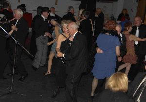 Dancing at 2014's Speakeasy.