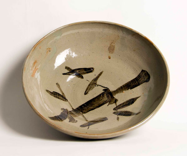 66. Robert Carrell   Bamboo Pottery Bowl   Stoneware   Washington, DC   304-258-6822
