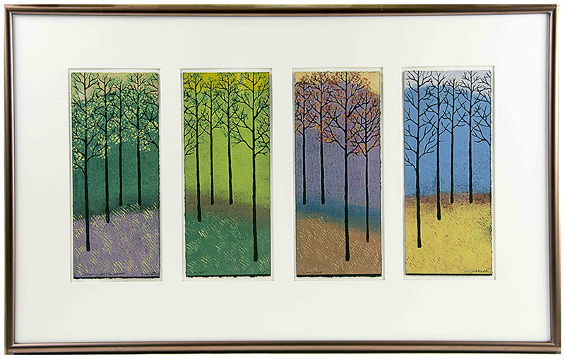 "Jan Heath, ""Four Seasons"" Print"