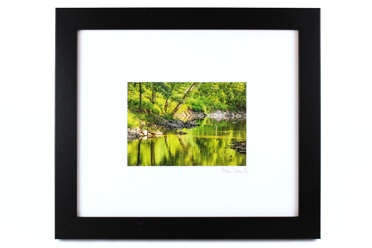 Stan Oaks, Stream, Framed Photograph
