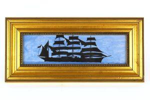 Greg McGrath, Framed Ship Painting
