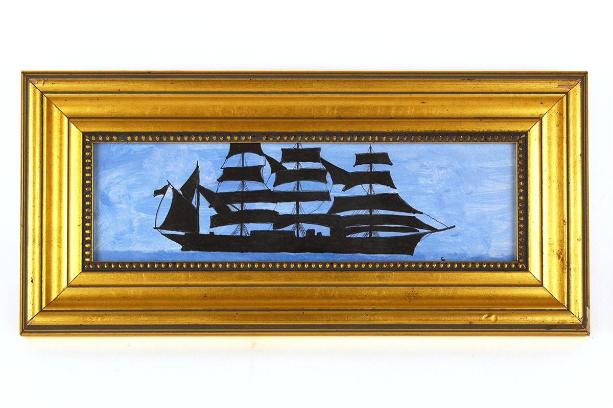 Greg McGrath, Framed Ship Painting