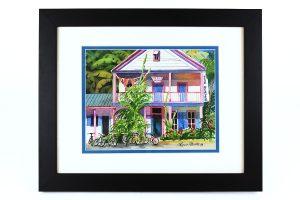 Lynn Ferris, Key West, Original Watercolor
