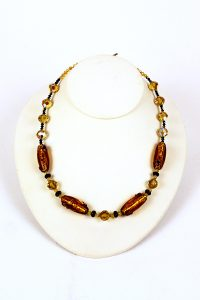 Pat Williams, Vintage Glass Bead Necklace