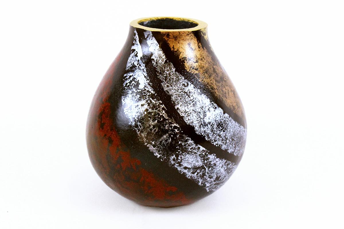 Ed Cimaglio. Three Metal Gourd