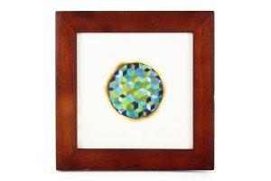 Mary Klotz, Small Framed Triaxial Weave