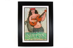 Mike Kleigerman, La Sirena, Framed Print
