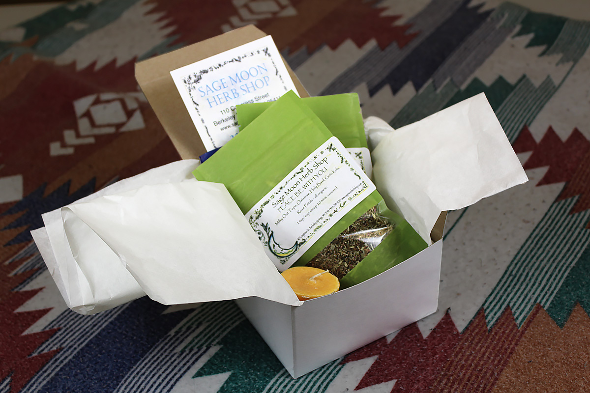 Sage Moon, Tea & Comfort Package