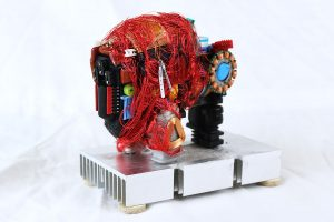 Rick Graser, Bufflo Fetish, Assembled Sculpture