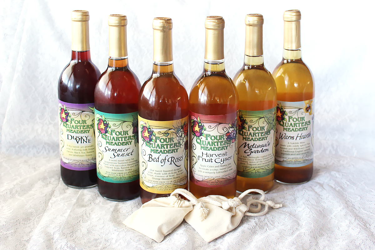 Four Quarters Meadery, 6 Bottle Mead Sampler