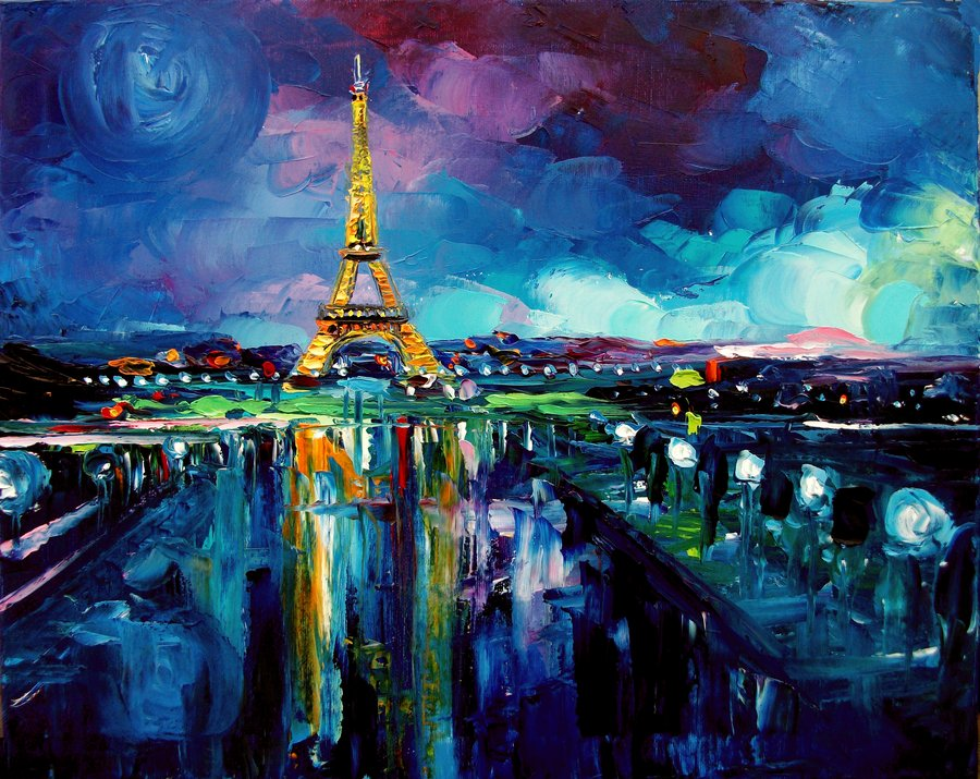 Parisian Night by Sagittarius Gallery