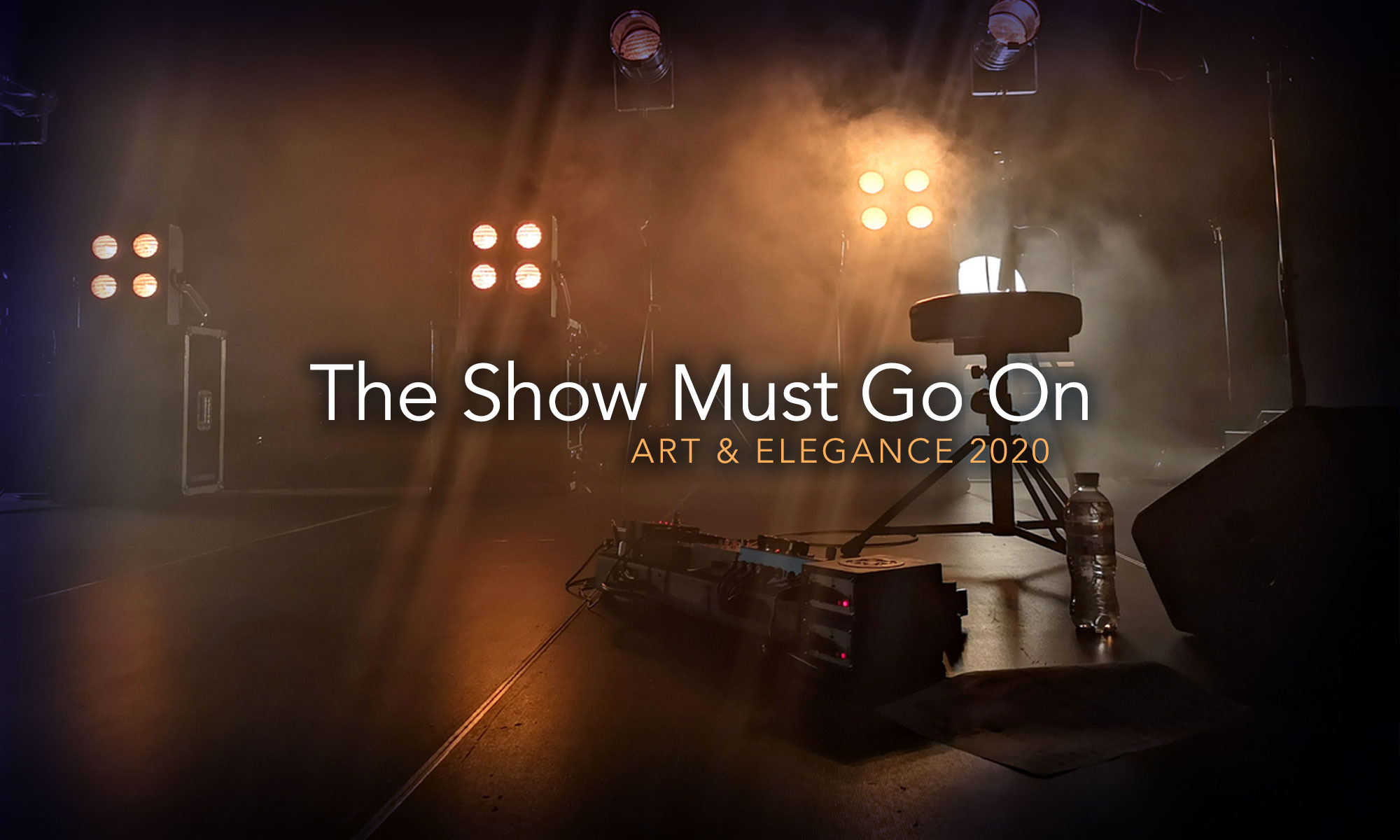 The Show Must Go On - Art and Elegance 2020